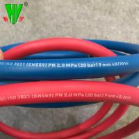 China 20 years production experience 20 bar red and blue color twin welding hose wholesale