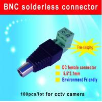 Quality DC female connector 5.5*2.1mm DC Power Jack Adapter Plug Cable Connector cctv for sale