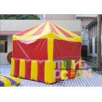 China Promotional Party Inflatable Tents Inflatable Candy Popcorn Selling Booth For Advertisement wholesale