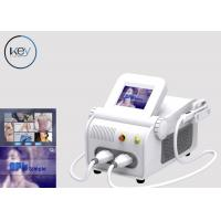 China Sapphire Crystal IPL SHR SSR Beauty Salon Equipment For Pigment Removal wholesale