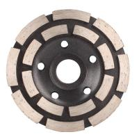 China Turbo Row Diamond Grinding Wheel , 4 Inch ~ 9 Inch Diamond Cutting Blades for Concrete wholesale