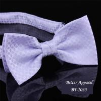 China cravat designer neckwear polyester bow tie on sale