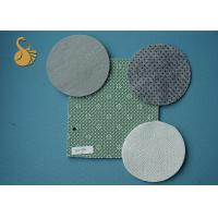 China 4 metres Non woven Felt polyester anti slip fabric with Phthalate (DOP) Free PVC Dots wholesale