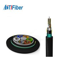 Quality 6 Core Aerial Fiber Optic Cable Double Jacket Outdoor G652d Gyta5 For Lan for sale