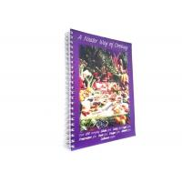 China CMYK Full Color Softcover Book Printing Recipe Book Making Hot Stamping Finishing wholesale