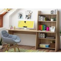 China Simple modern computer desktop desk, home bedroom table, multi-function bookcase, learning desk book shelf combination. wholesale
