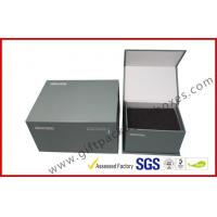 Buy cheap Handmade magnet gift packing box different size CMYK printing with black foam inside from wholesalers