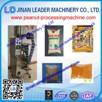 China industrial small peanut butter packaging machine for Peanuts sesame nut butters wholesale