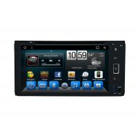 China Octa Core Indash Navigator Double Din Car DVD Player 6.95 Inch For Universal wholesale