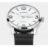 Buy cheap Boamigo Men New Leather Band Simple Calendar Waterproof 30m Luminous Casual Quartz Wrist Watch 2111 from wholesalers