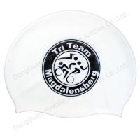 China Hot sell silicone swim cap wholesale
