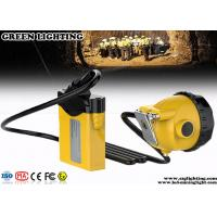 China Anti - Explosion PC Corded LED Mining Light With 10400 MAH IP 68 Waterproof    wholesale