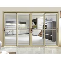 China Internal Single Glass Sliding Patio Doors / Residential Sliding Glass Doors wholesale