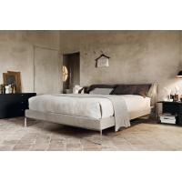 China Cassina Moov Modern Upholstered Bed Full Size Platform Soft Replica Customize wholesale