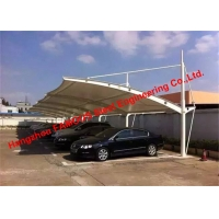 China America US Standard Certified Customized Membrane Structural Car Parking Carport on sale