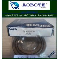 China Japan Koyo Taper Roller Bearing TR080802 , Z3 Carbon Steel and Low Vibration wholesale
