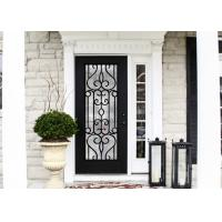 China European Style Custom Design Decorative Door Glass Inserts Excellent Climate Resistance on sale