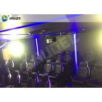 China 7D Cinema Theater With Laser Games And Live Action Movies For Science And Horror wholesale