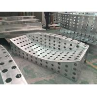 China Special Balcony Design Perforated Punched Aluminum Panel Durable wholesale