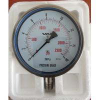 All stainless steel pressure gauge series(CE certification mark)