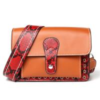 Quality wholesale new products mini leather lady handbags genuine leather messager bag for sale