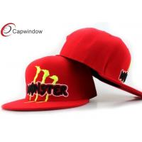 China 5 Panel Custom Strapback Hats wholesale