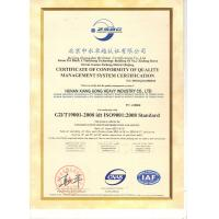 Urumqi King Equipments Co., Ltd.  Certifications