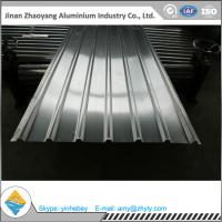 China 1.5mm Width 750mm Flat Corrugated Aluminum Sheet wholesale