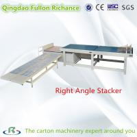 Buy cheap Right angle Full-Automatic Carton Box Paper Board Stacking Machine from wholesalers