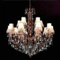 China Crystal Chandelier with Lights, Measures 1,350 x 1,300mm wholesale