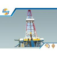 Quality Electrical Onshore Steel Oil Drilling Rig  , Oil Well Drilling Equipment Skid Mounted for sale