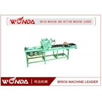 China Soild Pneumatic Pushing Automatic Cutting Machine 0.7KW In Red Block Line wholesale