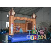 China Commercial Castle Mini Indoor Inflatable Bouncer House 0.55 Plato PVC EN14960 wholesale