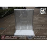 China 1.2m High Aluminium Stage Barrier | Al Concert Barrier | Mojo Stage Barrier wholesale