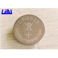 China Primary Lithium Cell Battery , 240m Ah Rechargeable Coin Cell Battery 3 Volts wholesale