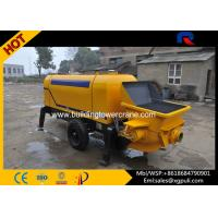 China Hydraulic Static Pump Concrete 0.6M3 Hopper Capacity S Distribution Pipe Type wholesale