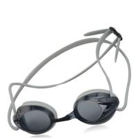 China Adult No Leaking Racing Swimming Goggles PC Frame Material With Silicone Strap wholesale