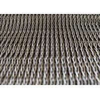 China Hotel Decorative Spiral Mesh Belt , Conveyor Belt Wire Mesh SS304 Anti Corrosion And Rust on sale