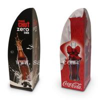 China Coca Cola Cardboard Floor Standee with Stacked Drinks Pack for POS Display wholesale