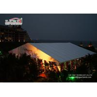 China Temporary Outdoor Event Tent Wedding Party Show 500 - 2000 Sqm wholesale