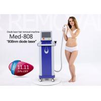 China 808nm Permanent Hair Removal Laser Machine , Unwanted Hair Removal Machine wholesale