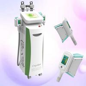 China Cryolipolysis Fat Reduction Slimming Machine With Cavitation / RF / Cyo Technology wholesale