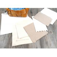 China Paper Disposable Tableware Brown / White Napkins Customized Printing wholesale