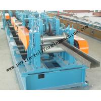 China Automatic C / Z Purlin Roll Forming Machine Interchangeable For Steel Frame wholesale