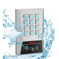 Buy cheap Metal RFID Reader 125kHz Proximity Card Door Access Control Password Keypad from wholesalers