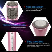 Quality 2016 New product K068 handheld wireless bluetooth microphone portable bluetooth speaker for KTV with mini design for sale