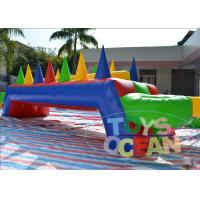 China Kids Indoor Inflatable Sport Game Air Juggler Table Play Floating Ball Air Hockey wholesale