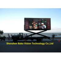 China IP65 Mobile Stable Led Advertising Billboard Display Tvs For Moving Car / Truck wholesale
