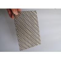 China Production of wholesale corrosion resistant decorative mesh For indoor and outdoor use on sale