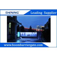 China 140W Motor Parking Lot Advertising Barriers With Temperature Control Function wholesale